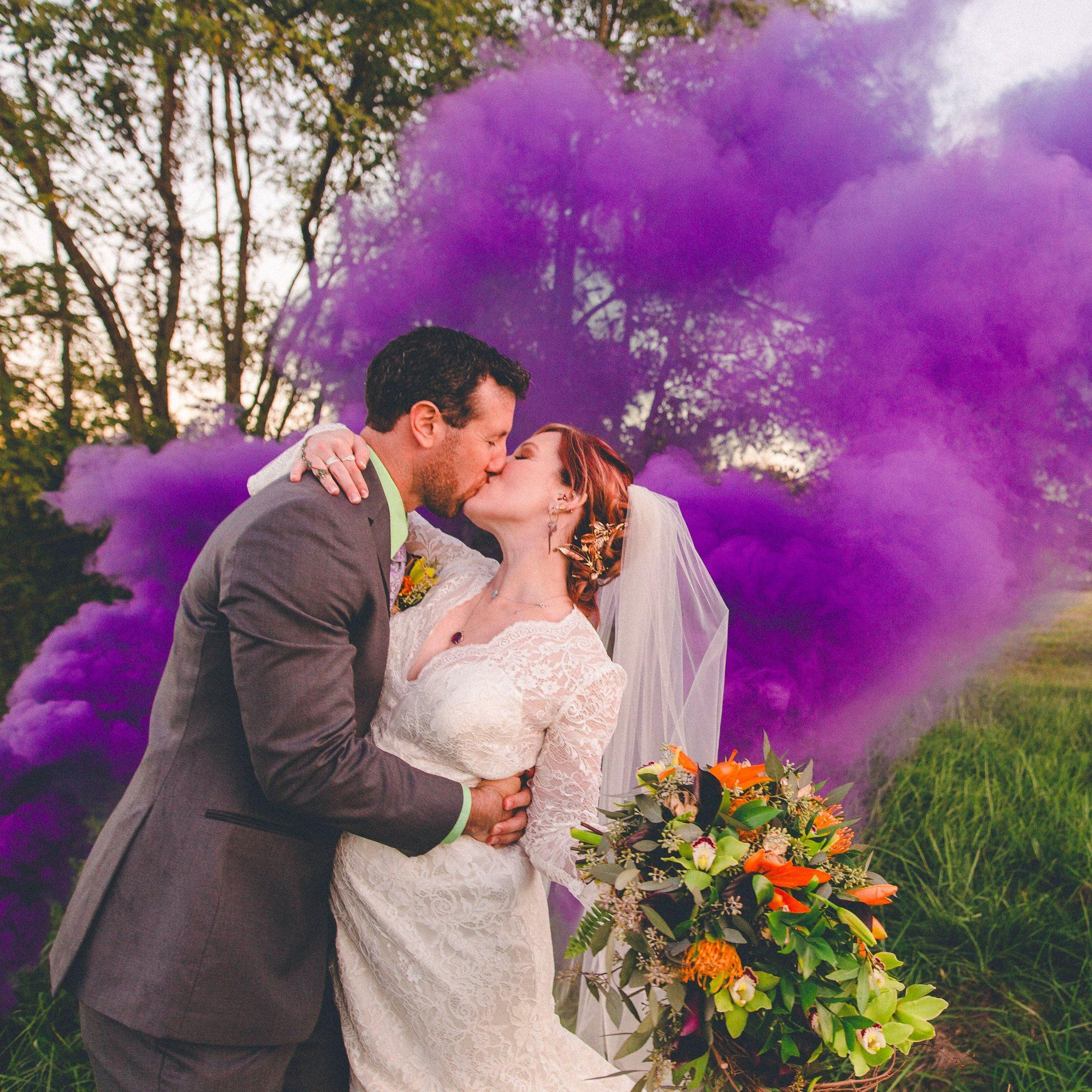 PHOTOS: A Stunning Outdoor Ceremony With Loads Of Games