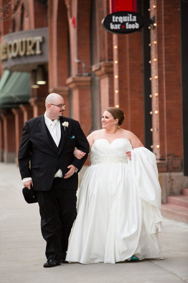 Real Plus Size Wedding Elegant And Chic Affair In Minnesota Plus