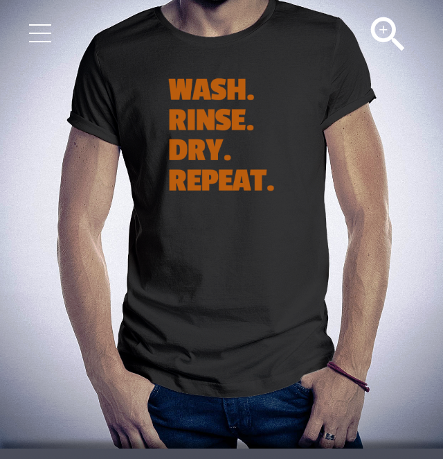 WASH. RINSE. DRY. REPEAT. RouteGurus Exclusive Car Care & Detail T-shirt. Show your love for detailing with our unique tees. 5 colors available! For men and women. Simple, sugestive, premium. Price: $19.99 Grab yours now: http://www.amazon.com/dp/B01F5HO3F0/ref=twister_B01F5HO9GS