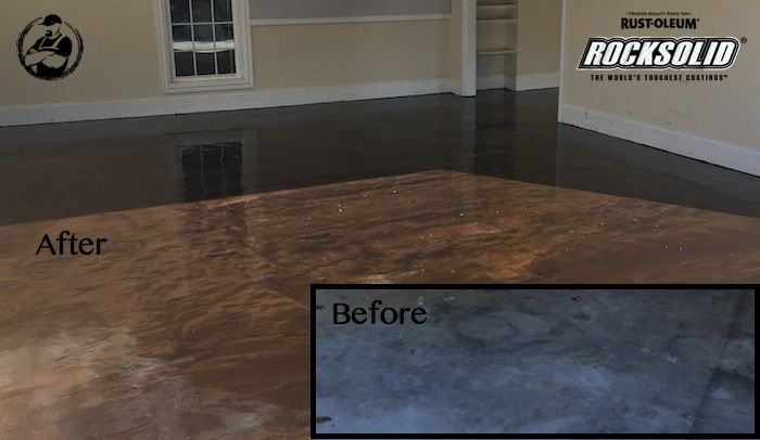 Rocksolid Garage Floor Coating Engineers By And Never