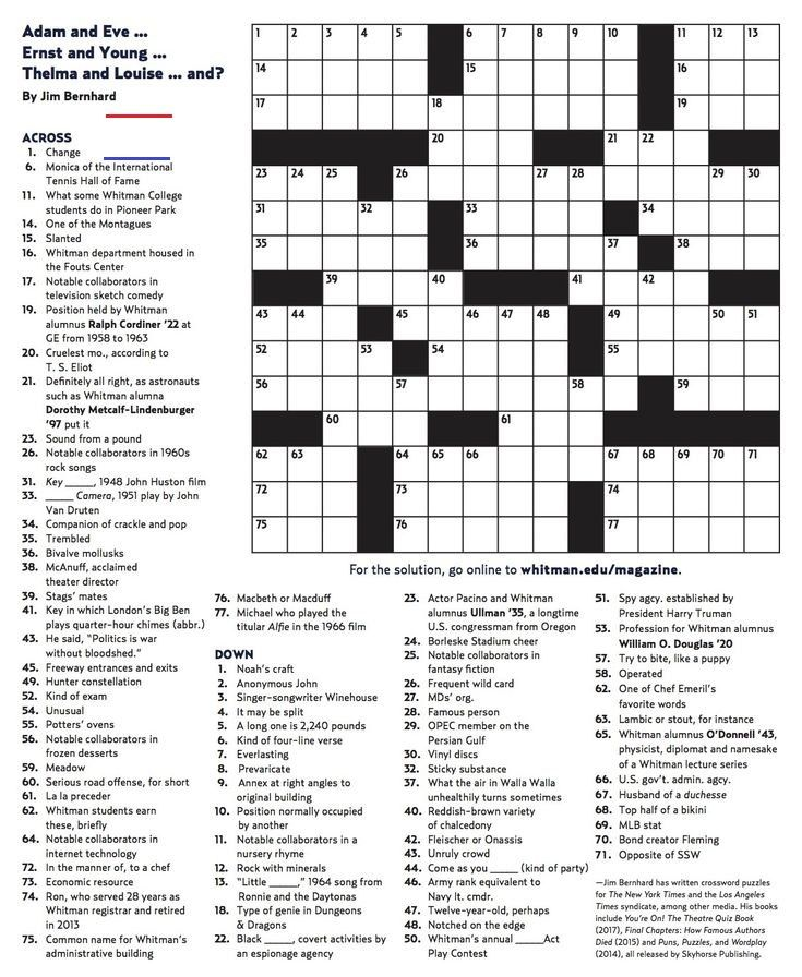 Printable Crossword Puzzles Pdf Check more at