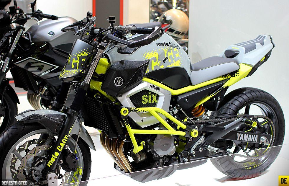Yamaha Moto Cage Six Concept Custom Bikes Derestricted Yamaha Custom Bikes Bike