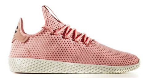 Pharrell x adidas Tennis HU Rose Saumon Baskets Pinterest