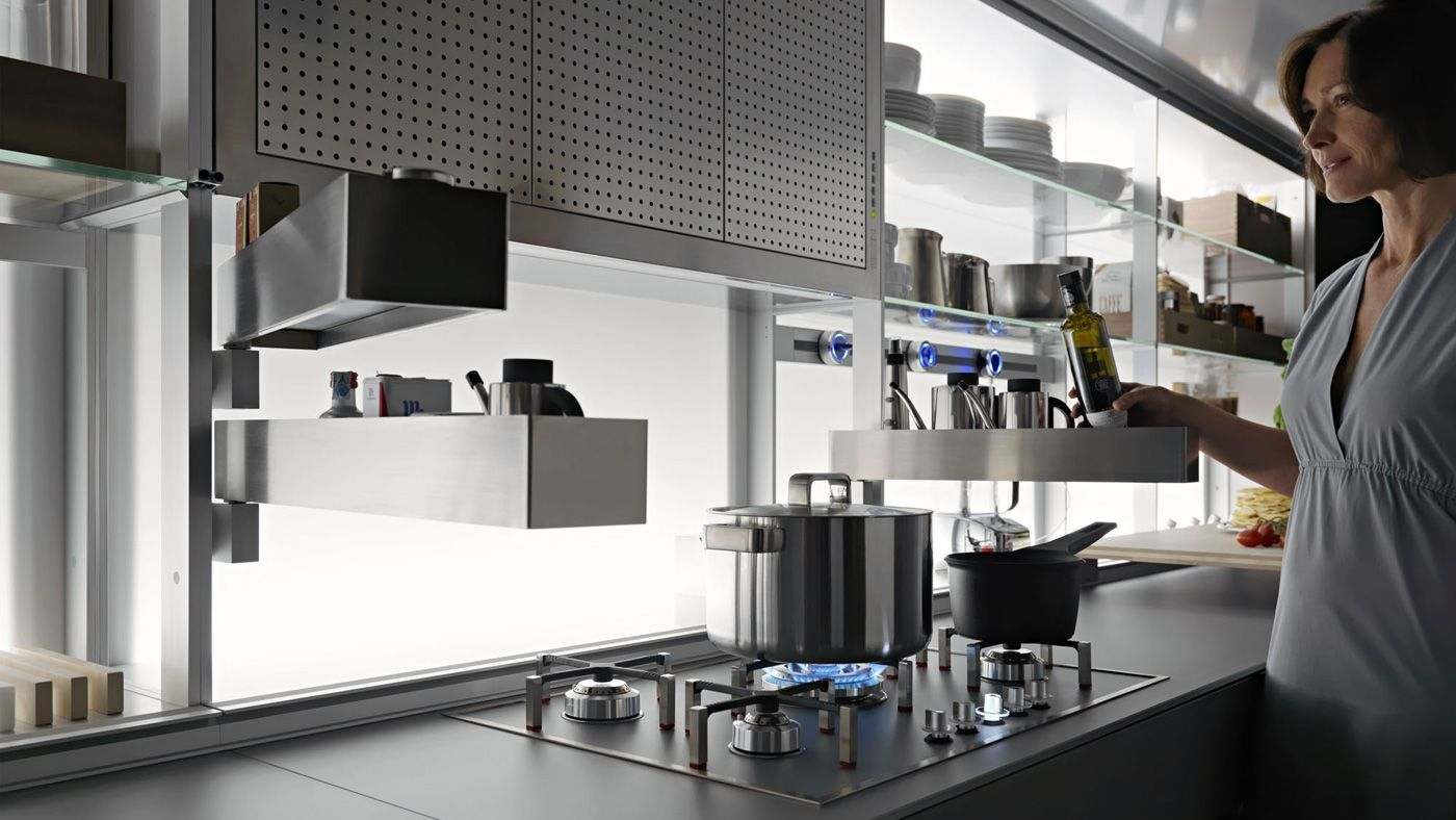 New Logica System from Valcucine. See their newest collection at ...