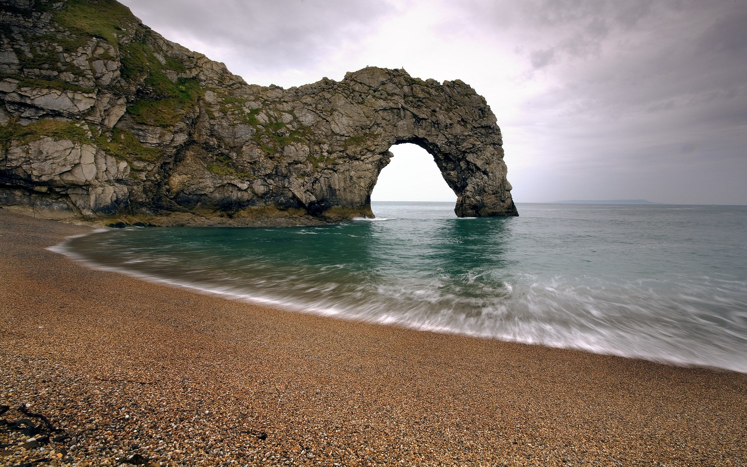 Dulder Door Sunrise Over Durdle Door And The Jurassic Coast & beach desktop 2560x1600 | likeagod | Pinterest