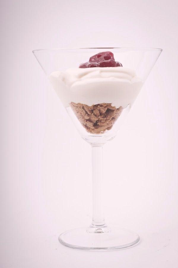 Cheesecake istantanea al bicchiere © Federico Casella per Cakemania.it