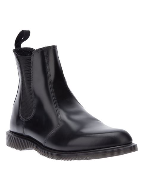 fde988b7b741d Shop Dr. Martens 'Flora' unisex chelsea boot in Voo Store from the world's  best independent boutiques at farfetch.com. Shop 300 boutiques at one  address.