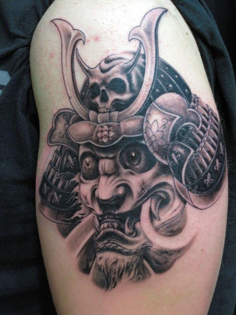 Demon Samurai Tattoo Images Pictures Becuo Japanese Tattoo