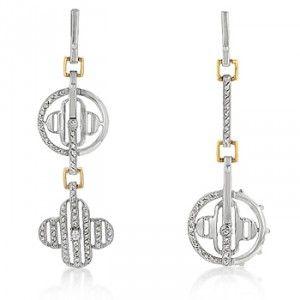 Clover Dangle Earrings $59