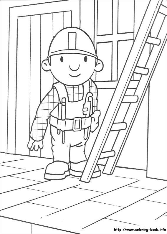 Bob the Builder coloring picture | Ideas for Stink Bug | Pinterest ...