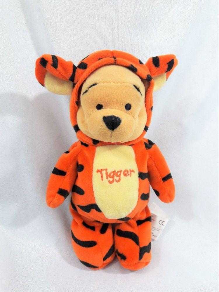 Winnie the Pooh as Tigger Beanie Baby Plush 8