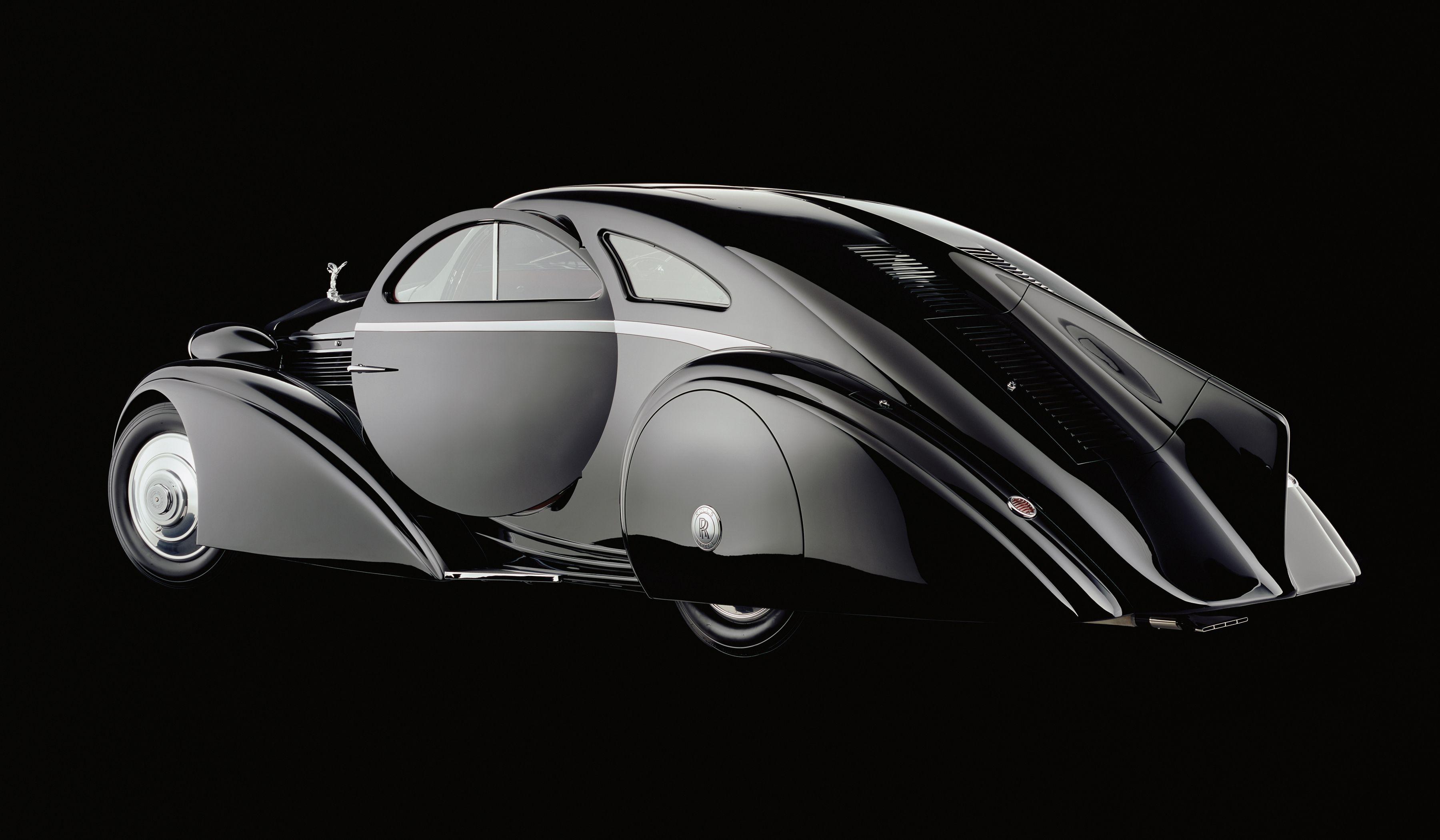 1925 Rolls Royce Phantom >> Phantom 1 Jonckheere Coupe Rear Side View The Round Door