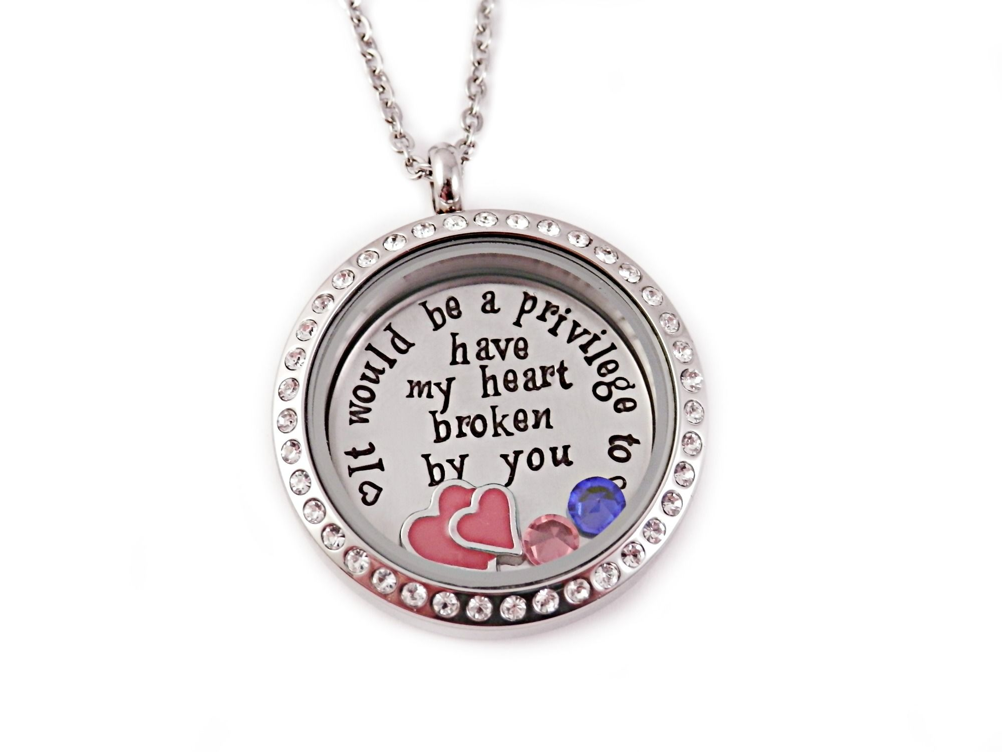 It Would Be A Privilege Locket