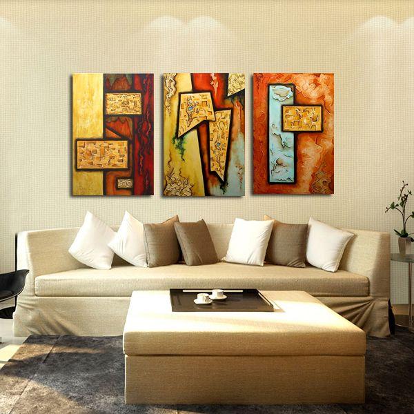 quadri moderni con figure astratte dipinti a mano olio su