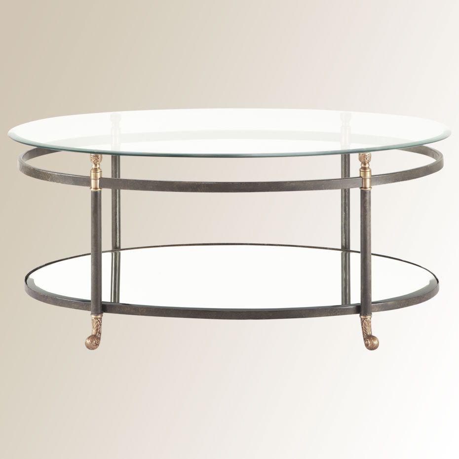 Charlotte Coffee Table Arhaus Hmm The Bottom Shelf Is Mirror