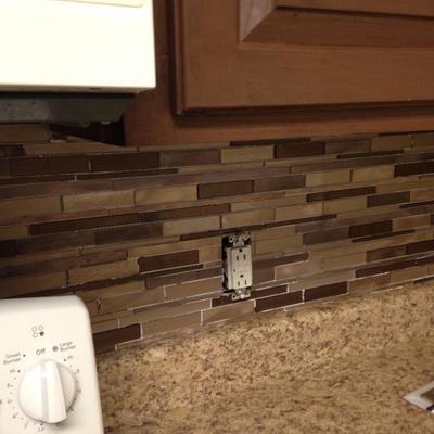 User Submitted Photo Backsplash Kitchen Design