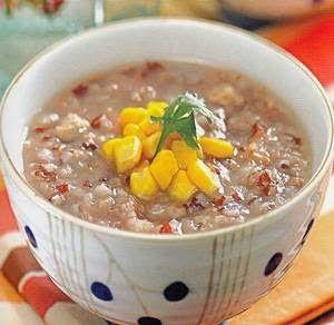 Resep Bubur Ayam Beras Merah Makanan Sehat Makanan Resep Masakan Sehat
