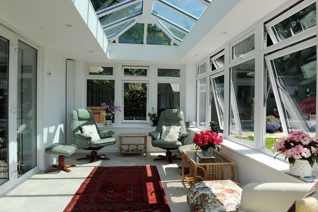 30 Glass Roof Ideas Can Be Substitute Roof Your House
