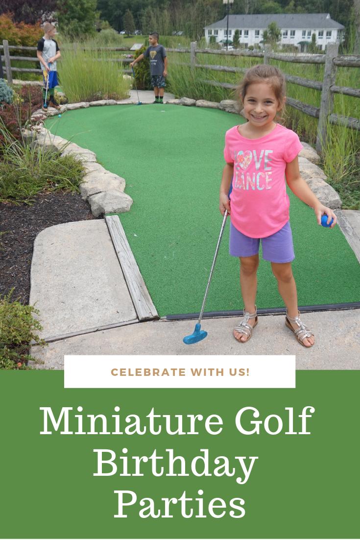 Mini Golf Parties Mini Golf Birthday Party Mini Golf Party Golf Birthday Party