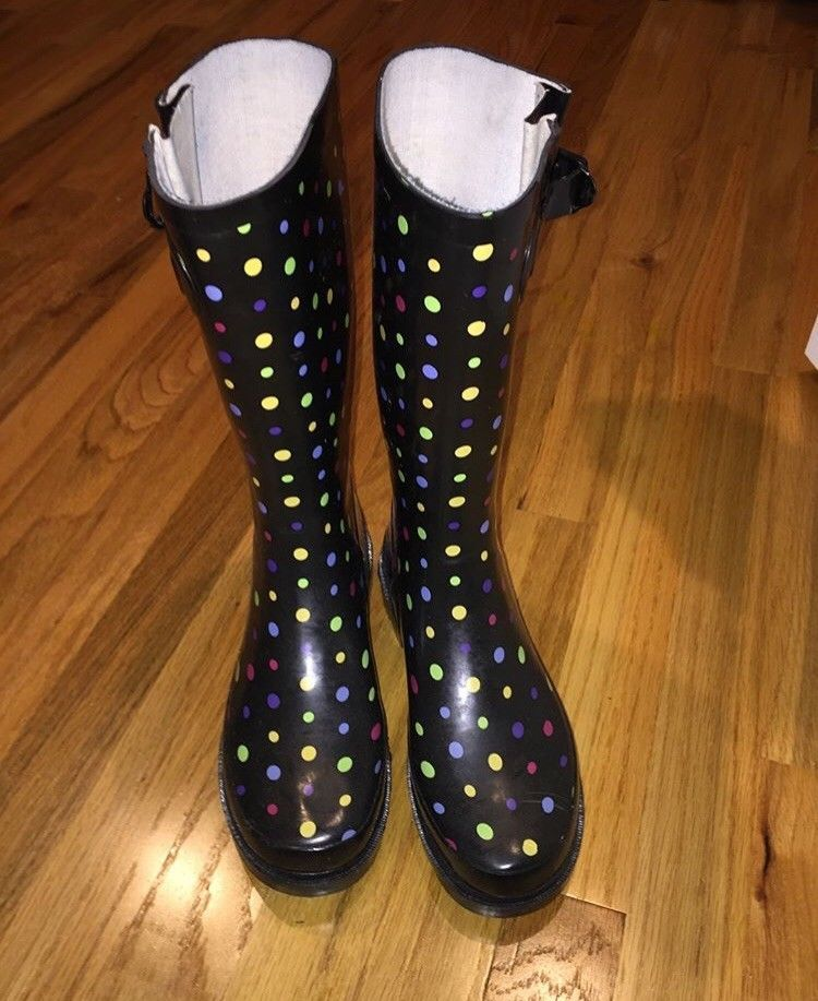 Womens Patterned Rainboots Size 60 Fashion Clothing Shoes Amazing Patterned Rain Boots