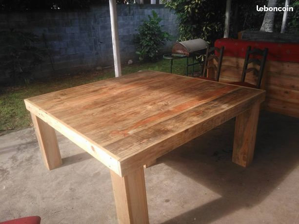 Table En Planche De Coffrage Diy Meubles Mobilier De Salon