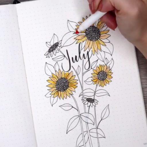 Calligraphy Bullets: 20 beautiful typos - Bullet Journal & Scrapbooking