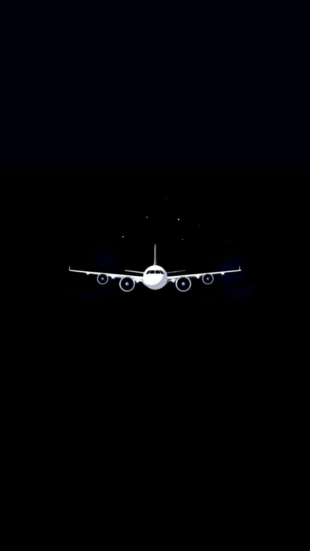 シンプルでかっこいい飛行機 のiphone壁紙 スマホ 背景 Iphone