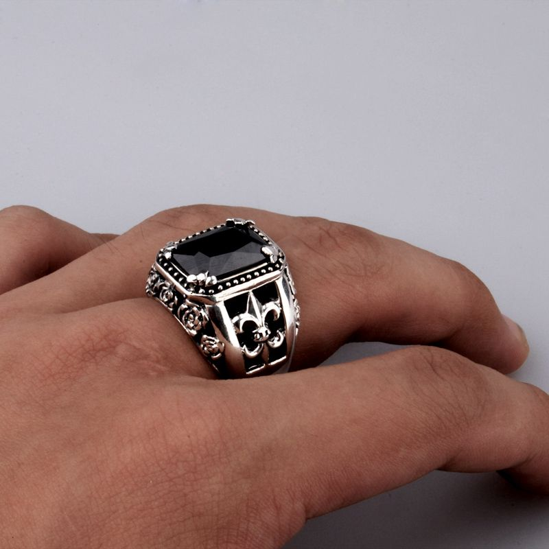 This a very sexy ring for men. | jewelry | Pinterest | Ring, Onyx ...