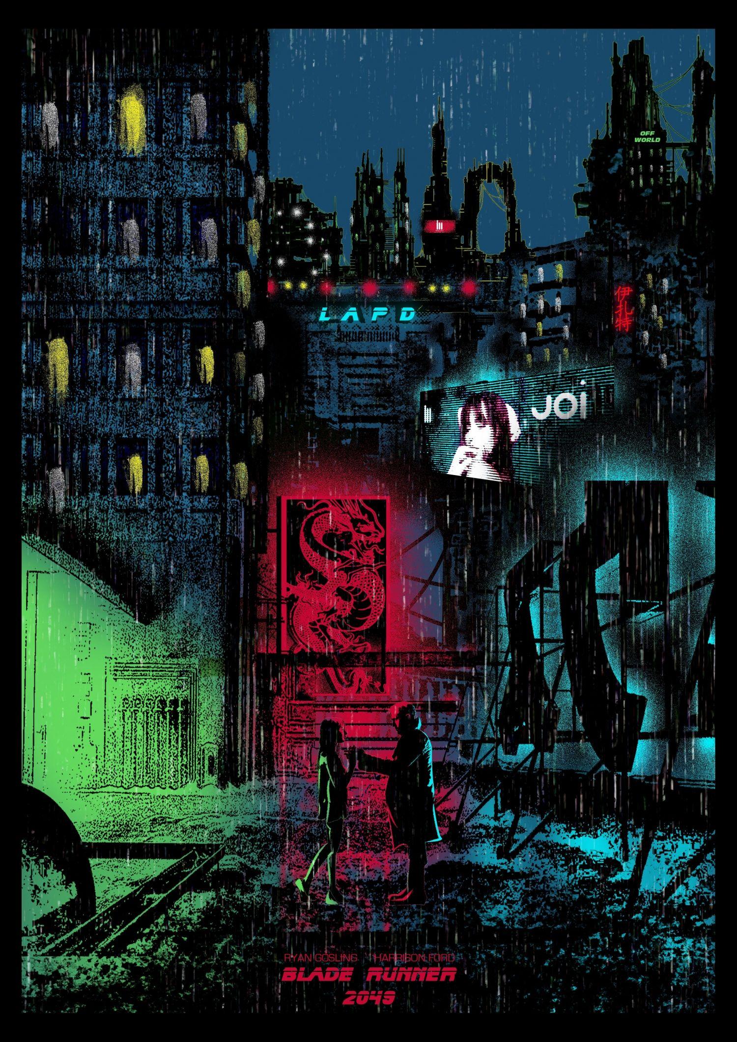 Blade Runner 2049 2017 1500 X 2121 Repinned By Echocinematics