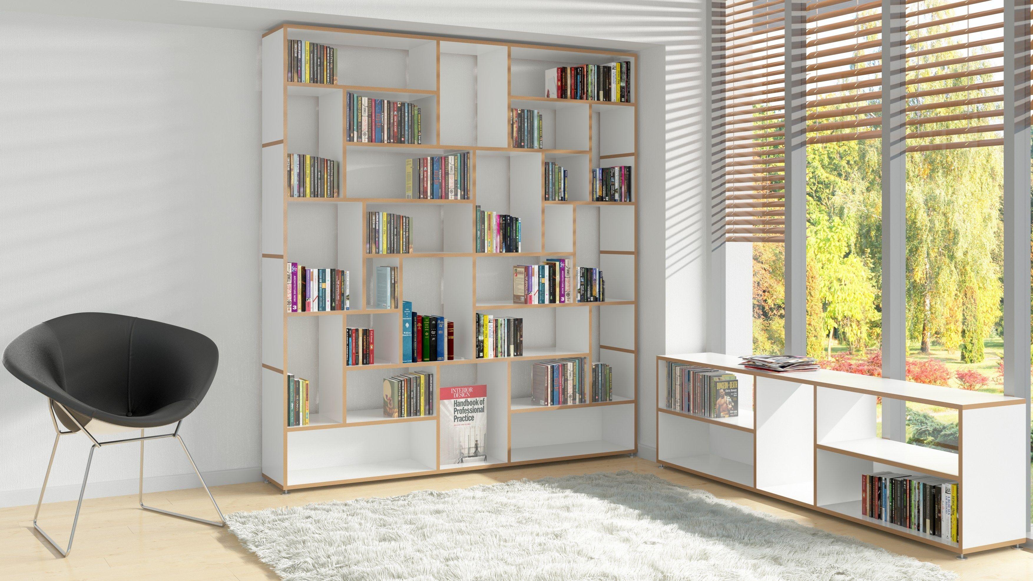 Erkunde Wohnen, Wohnzimmer Und Noch Mehr! Offenes Modulares Bücherregal Aus  MDF HANIBAL By Tojo Möbel Design ...