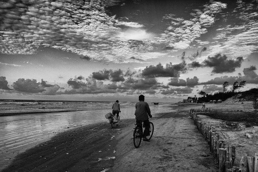 scenic route, mandarmoni, west bengal, india