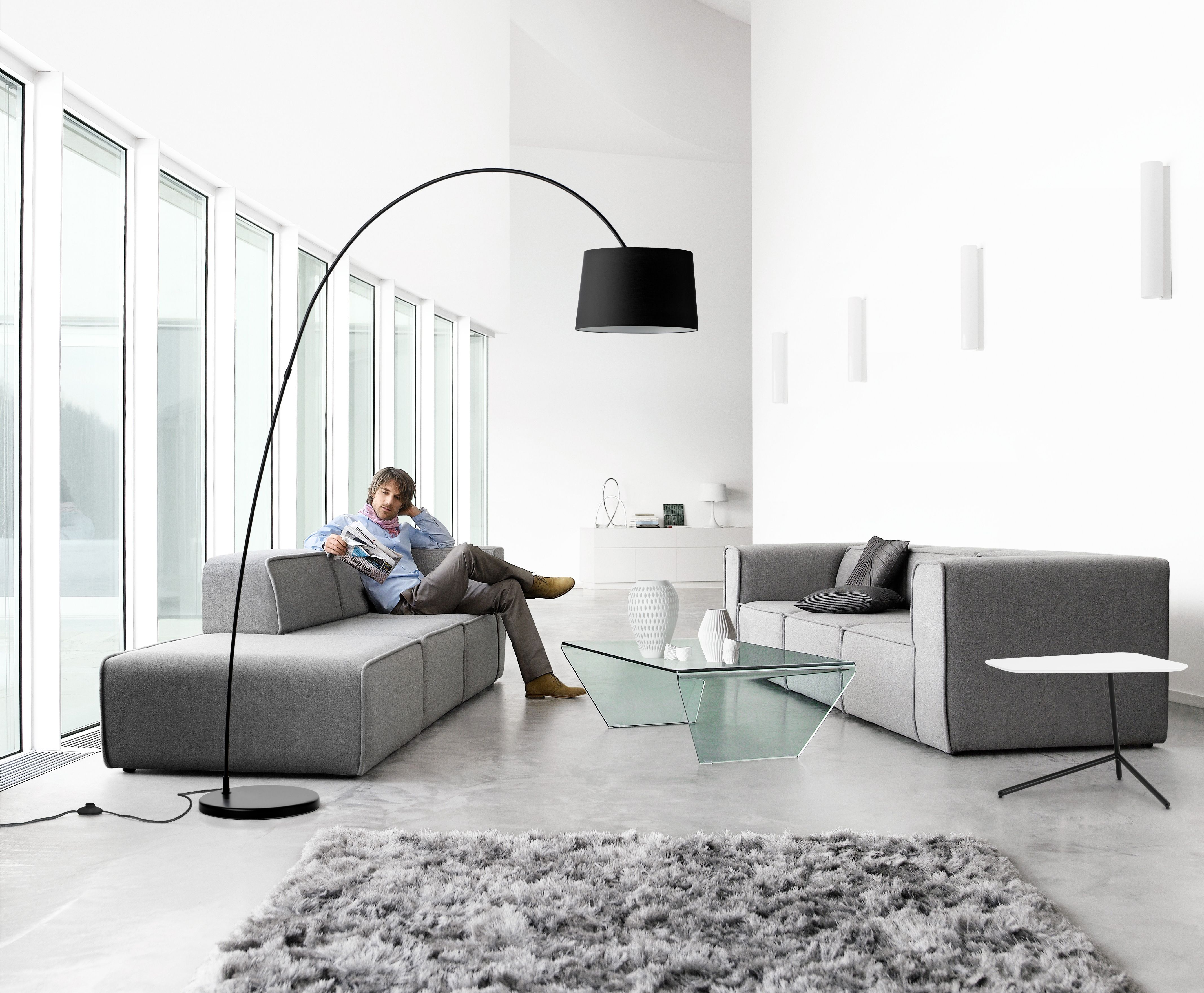 Carmo Sofa Kuta Lamp Neat Rug Adria Glass Coffee Table All Products Available In Different Materials Interior Decorating Living Room Furniture Boconcept