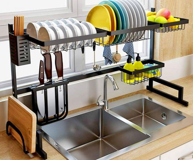 Over The Sink Dish Drying Rack With Images Dish Rack Drying