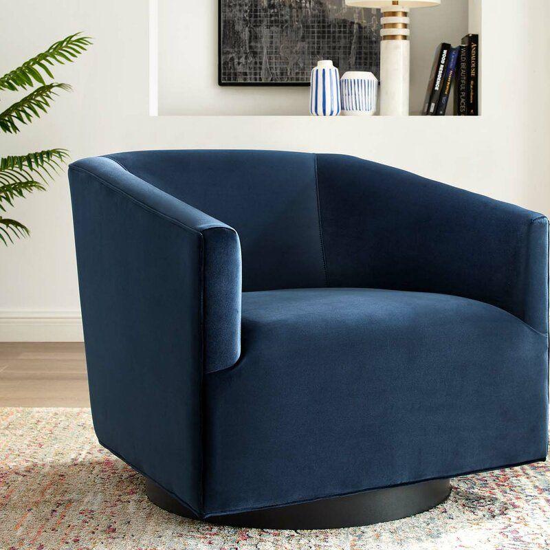 Estabrook Swivel Armchair In 2020 Swivel Armchair Modern Swivel Chair Living Room Swivel Chair Living Room #swivel #chairs #living #room #upholstered