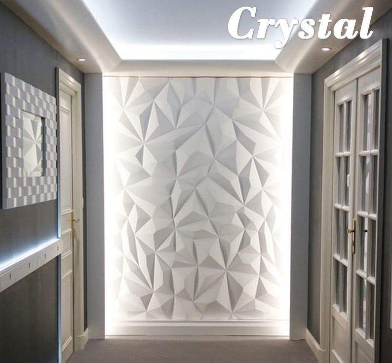 Kunststoffform Fur 3d Wand Dekor Panels Fur Oder Beton 3d Etsy In 2020 Decorative Wall Panels Textured Wall Panels 3d Wall Decor