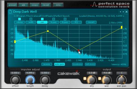 Cakewalk - SONAR X3 Documentation - Audio effects