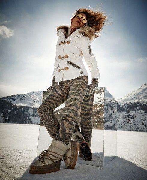 Bogner ski jacket Daunenanorak Kate-D with Pelz Hoodfur2 (racoon)