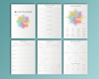 Monthly Planner Printable Monthly Agenda Monthly Organizer