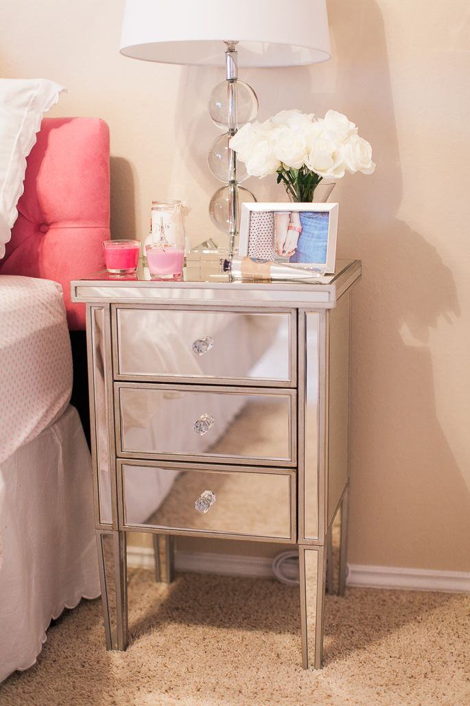 Best Lamps Plus Mirrored Nightstand Bedroom Night Stands 640 x 480