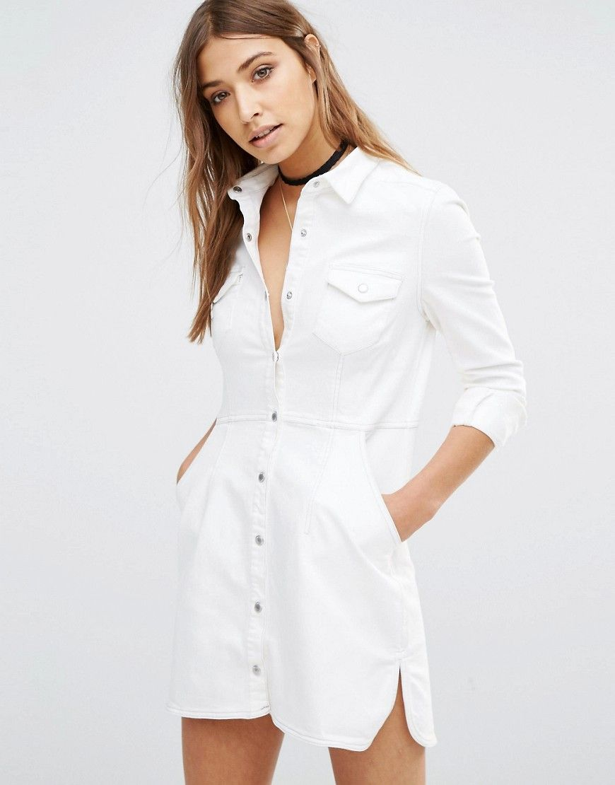the cheapest the latest reputable site Free People Dynomite Denim Dress   Sale finds summer16 ...