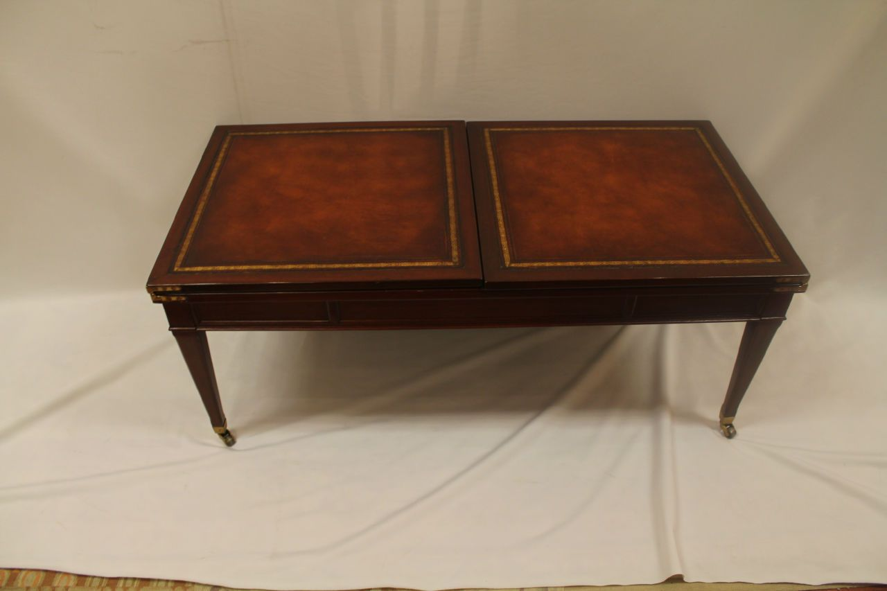 Weiman Mahogany Expanding Coffee Table