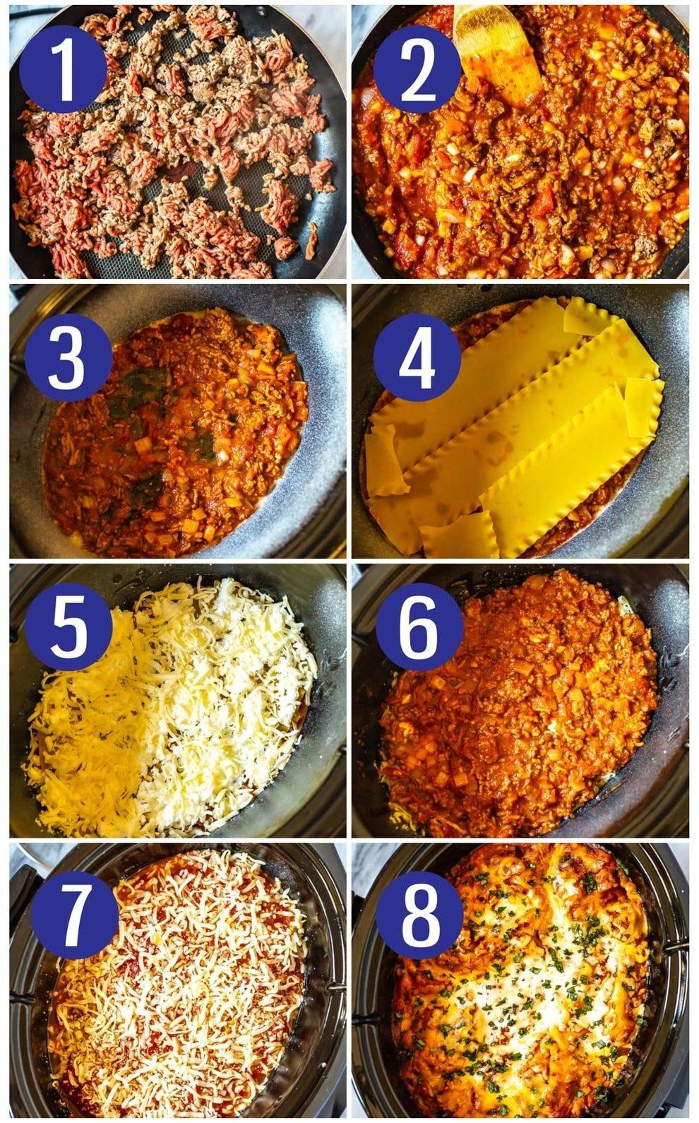 18 Fall Dinners & Desserts You Can Make In A Slow Cooker #crockpotlasagna