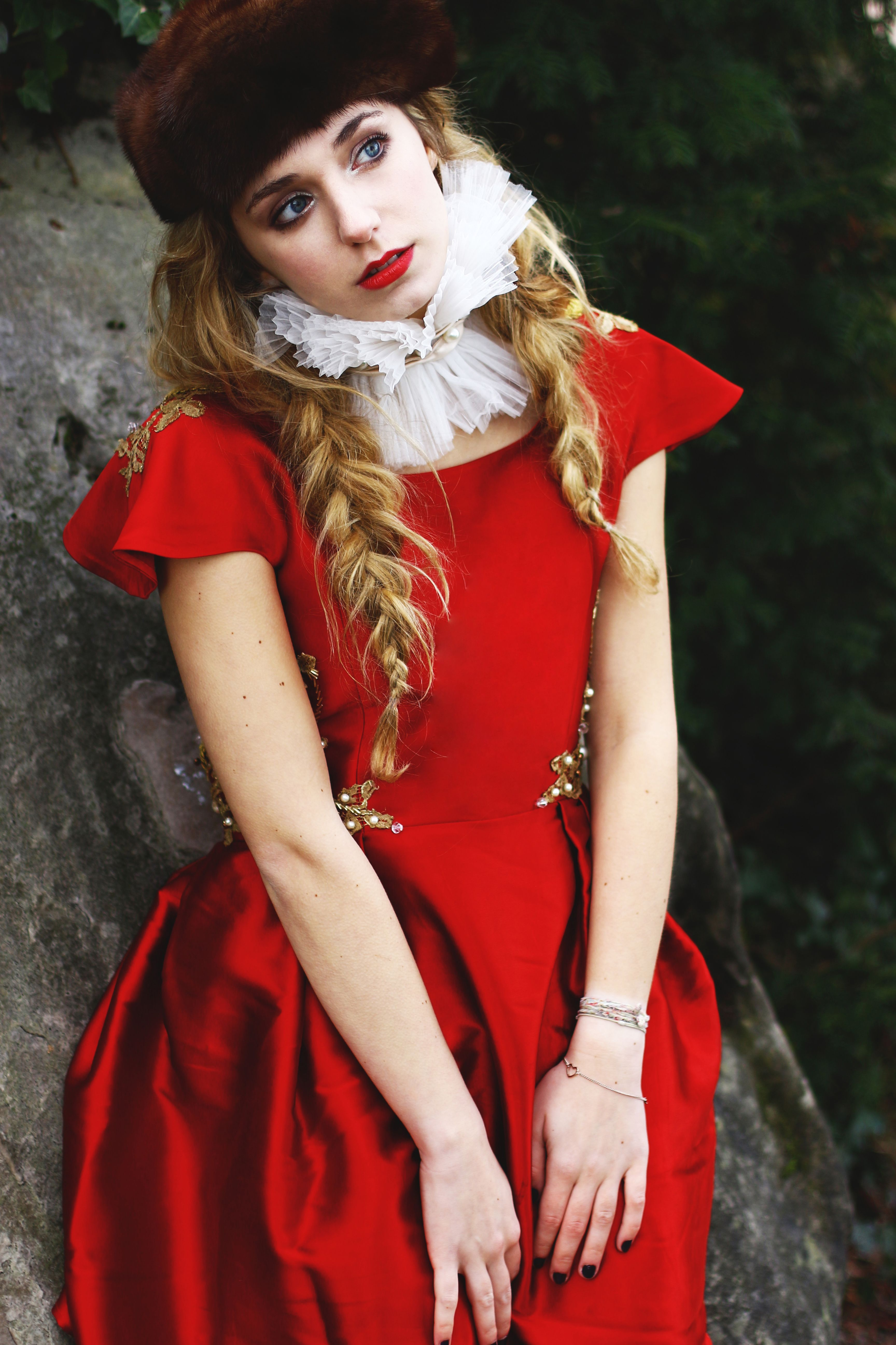 Princess of folklore by Katia BDR for Seekme magazine / Styling Amany Gogo / MUAH Mona Purple