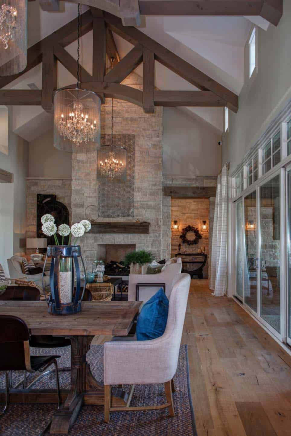 Timeless Modern Farmhouse With Elegant Chic Interiors In Texas