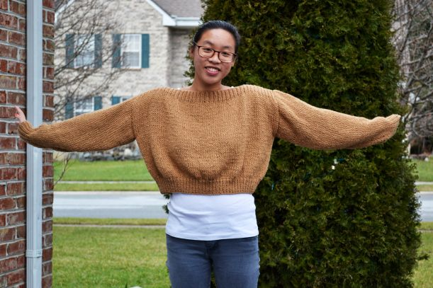 9340415c3be9 Cropped Boatneck Sweater Pattern