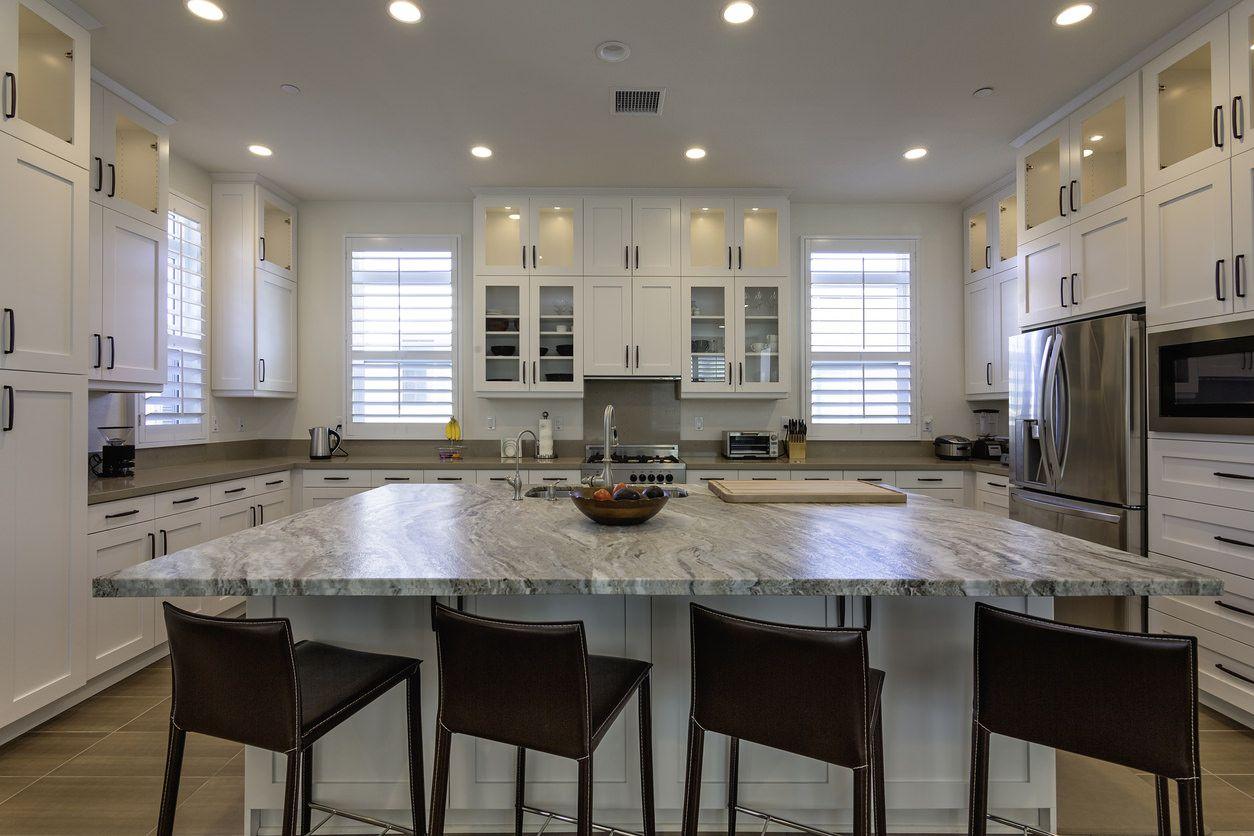 101 Custom Kitchen Design Ideas Pictures Kitchen Design Layout Island Square Kitchen Layout Custom Kitchens Design