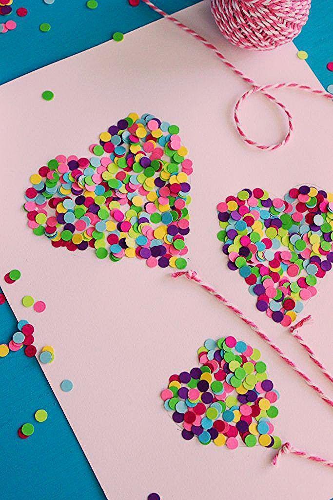 Photo of 17 Basteln zum Valentinstag für Kinder – Lolly Jane