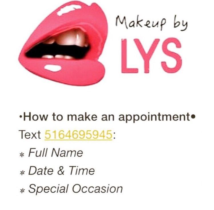 Follow me on Instagram @makeupbylys & like me on Facebook!!! https://www.facebook.com/pages/Makeup-by-Lys/612839205437010?ref=bookmarks  https://instagram.com/makeupbylys/