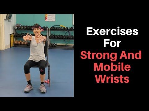 Wrist Strengthening Exercises For Seniors - Fitness With Cindy #strengtheningexercises