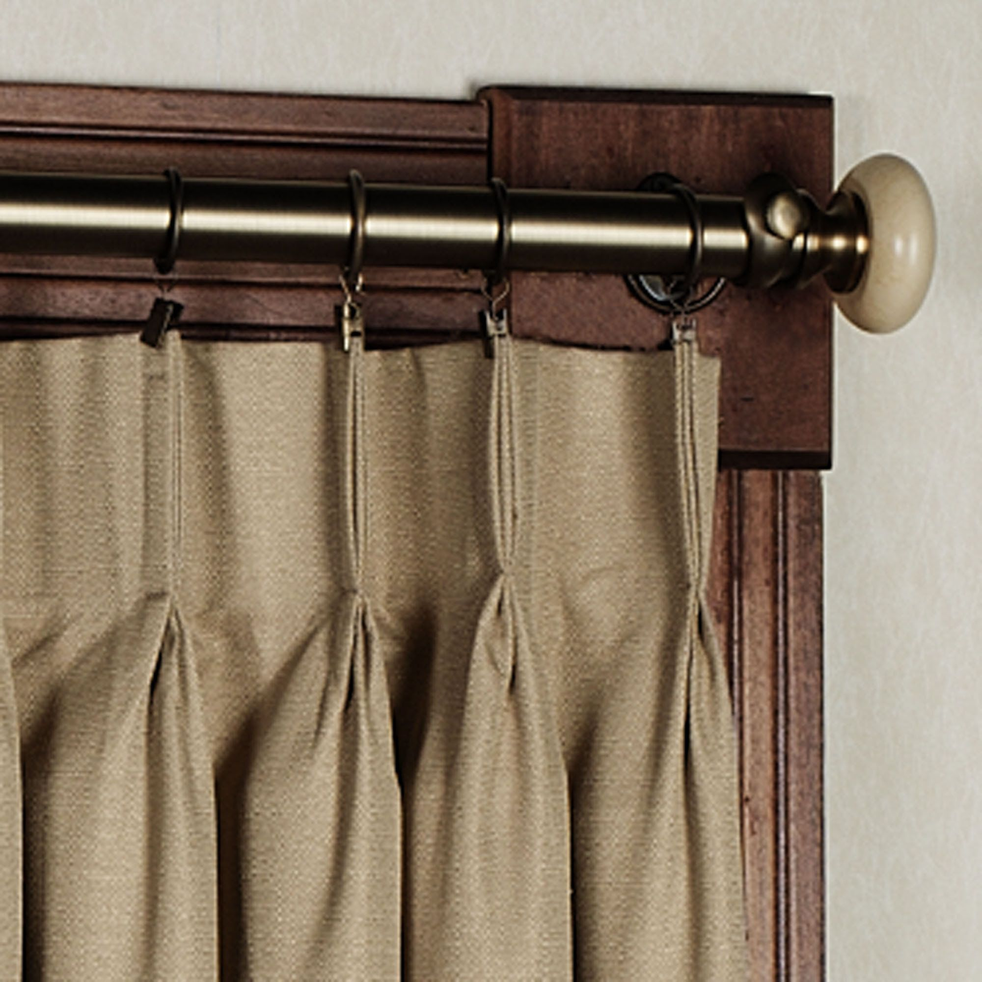 Crosby Pinch Pleat Wide Curtain Pair 144 X 84